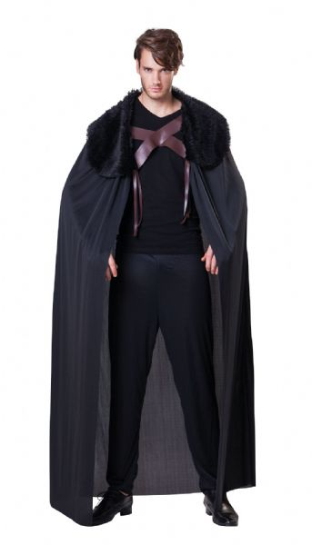 Adults Cape Mens Costume Superhero Villian Super Hero Fancy Dress Outfit Cosplay